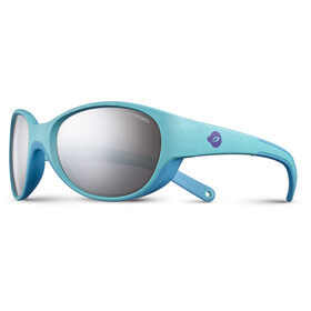 Julbo Kids 4-6Y Lily Spectron 3+ Sunglasses Turquoise/Sky Blue-Gray Flash Silver